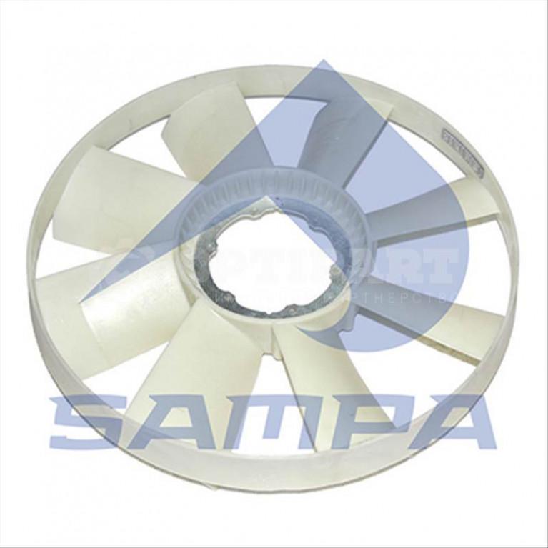 Крыльчатка вентилятора D=704 MB Atego SAMPA 200.163-01 20016301 20016301